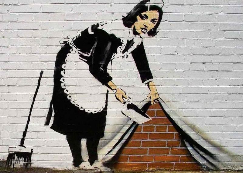 'Banksy ' art